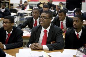 Urban Prep charter school's first graduating class