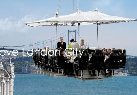 Dinner in the sky london