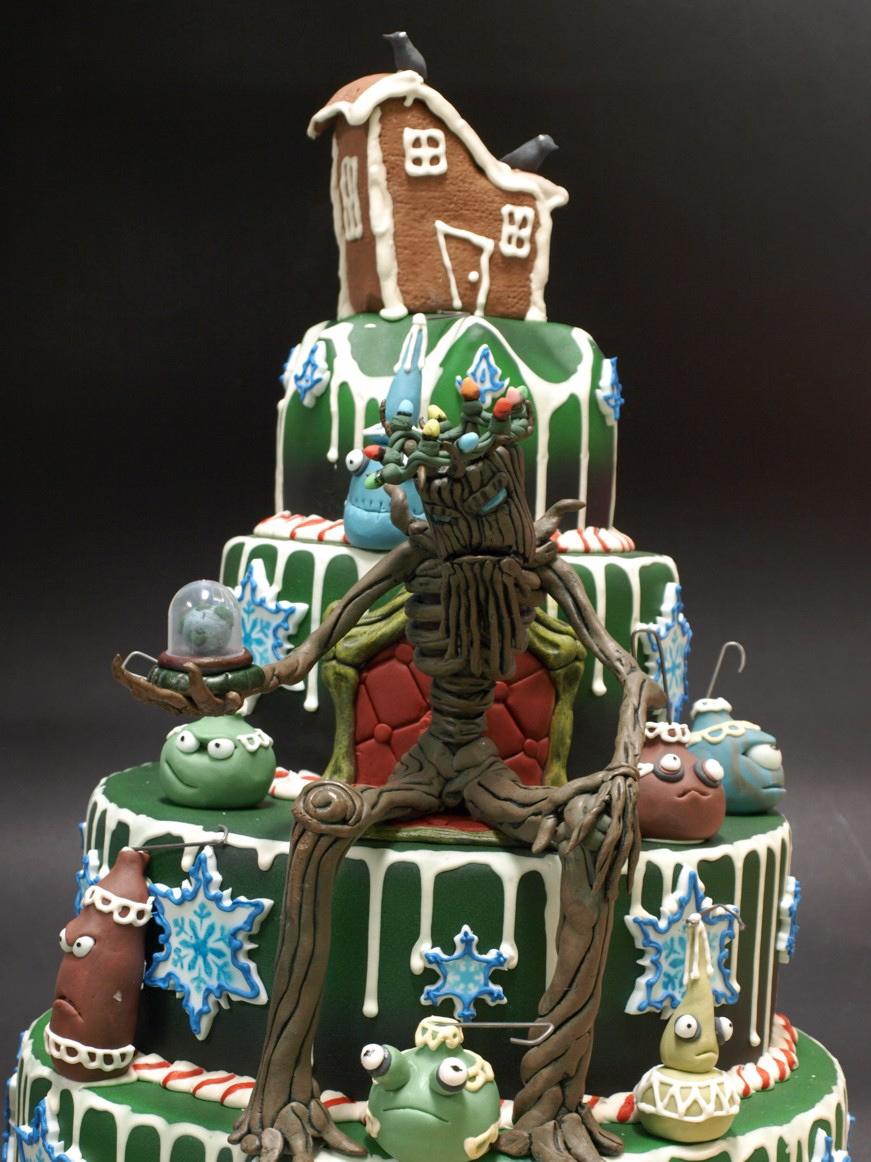 Frozen Landscapes Christmas Cake Wrecks Amp Holiday Music